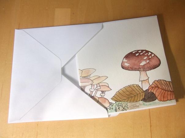 Mushroom card - Lady Justine's blog